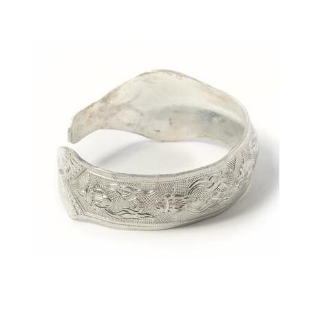 Bracelet en couvert recyclé